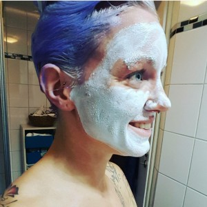 sivilceli ciltler için maske